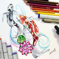 Koi Fish by Lucky978