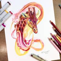 Giraffe by Lucky978