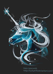 Unicorn Patronus by Lucky978