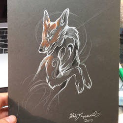 Fox Sketch by Lucky978
