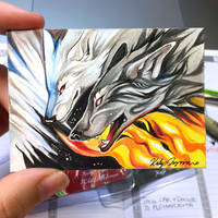 Fire and Ice ACEO by Lucky978