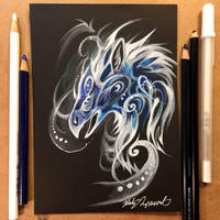 Griffin Patronus by Lucky978