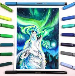 Aurora Borealis by Lucky978