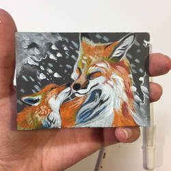 15- Fox Kisses by Lucky978