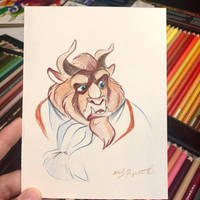 34- Beast Sketch by Lucky978