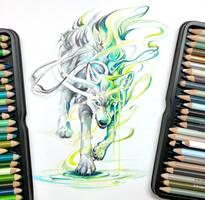 Spirit Wolf by Lucky978