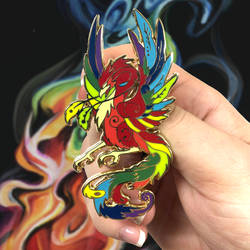 Regal Phoenix Pin by Lucky978