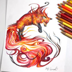 Fire Fox by Lucky978