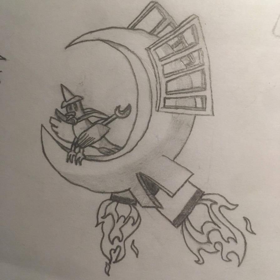 Night doodle by Primarter