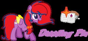 Dazzling Pie REF SHEET by CupcakeEdits20