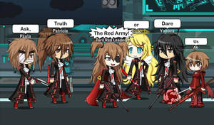 Ask,Truth or Dare the Red Army!! by CupcakeEdits20