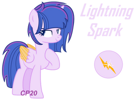[MLP FIH NEXT GEN] Lightning Spark Ref Sheet by CupcakeEdits20
