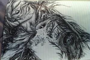 doodling by AveryKroft