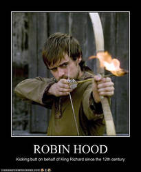 Robin Hood is Awesome by FaerieDragon19
