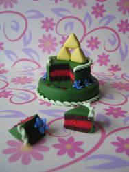 Zelda cake by Vocalist-RedSpade