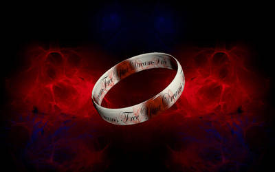 Free Your Dreams Ring by ci5roger