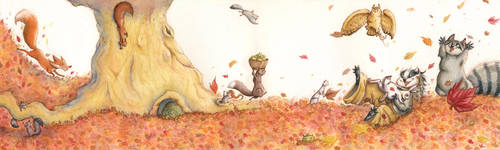 Autumn's Cortege by WinterImp