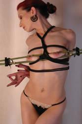 Bamboo bondage by DJ-Jynx
