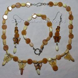 j - Golden Butterflies by Catgoyle