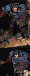 Battle Brother Crixus - detail by MassIveVoodoo