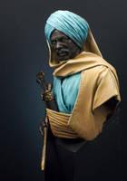 Nubian Guardian by MassIveVoodoo