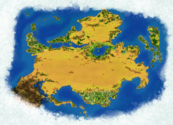 Southern Continent Map by DaVLoPBoS