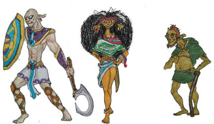 Southern Continent Dwellers by DaVLoPBoS