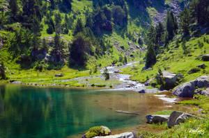 Le bout du lac by rdalpes