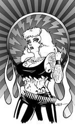 Metal Girl by TJ-Krushervision