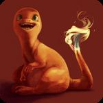 Pokemonathon: 004 Charmander by monokin