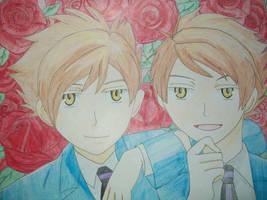 Hitachiin Twins by Yoshimi25