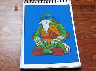 Lazy Drawing - Old Leonardo by RandomIndianGuru