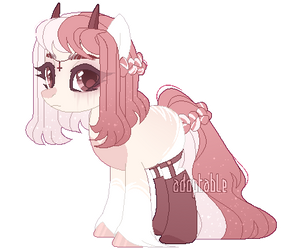 pink adoptable [CLOSED] by LissFoxz