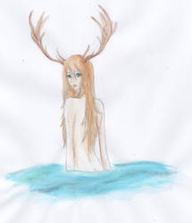 Deer by MrsGwenie