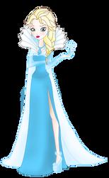 Ever After High - Elsa - Legacy Day by MrsGwenie