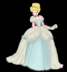 Cinderella blue by MrsGwenie