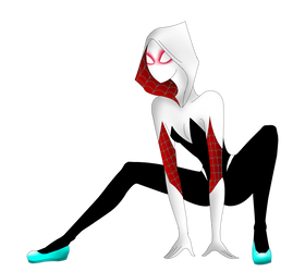 Spider Gwen by MrsGwenie