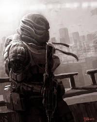 Day Soldier by wiredgear
