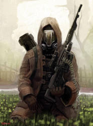 Sniperman by wiredgear
