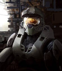 Halo - Master Chief by wiredgear