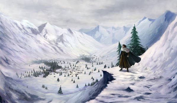 Valley of Brantorn by rodmendez
