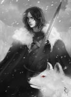 Jon Snow by rodmendez