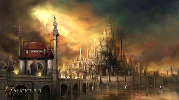 The city of Faras by rodmendez