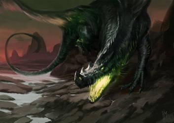 Black Dragon by rodmendez