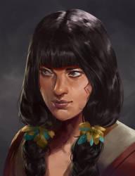 Random Gua'ri Girl by rodmendez