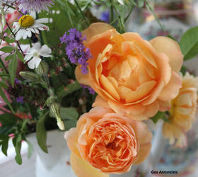 ROSES AND WILD FLOWERS by GeaAusten