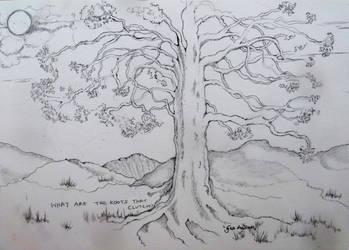 OLD OAK TREE by GeaAusten