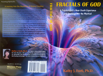 FRACTALS OF GOD \MY BOOK COVER I  DESIGNED by GeaAusten