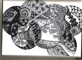 Zentangle 1 by SpicyMangoz