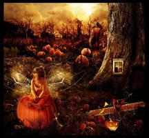 Halloween fae by Lillucyka